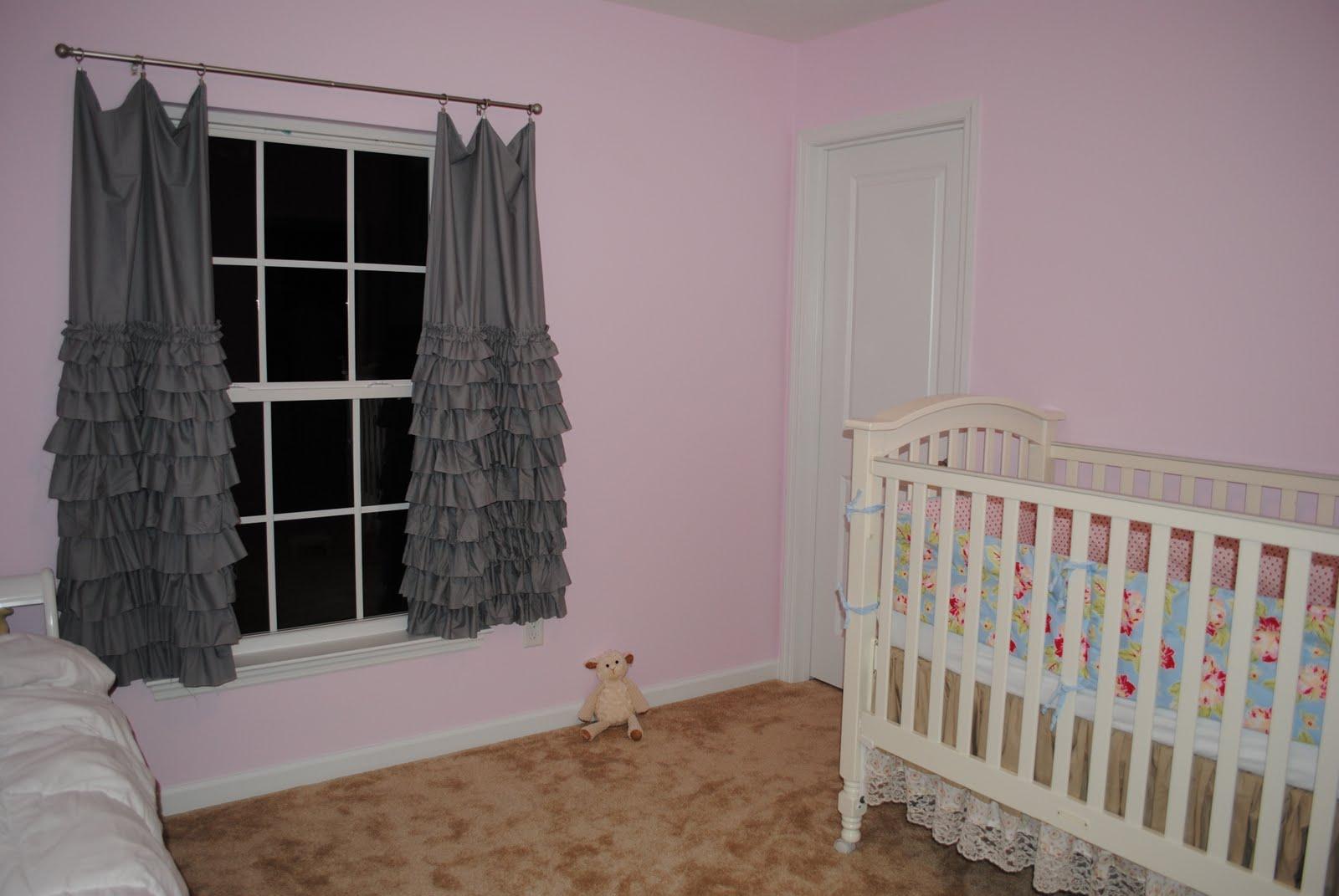 Ruffled curtains tutorial - Layered Ruffle Curtain Tutorial