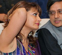 Sunanda Pushkar slaps youth trying to misbehave with her at airport