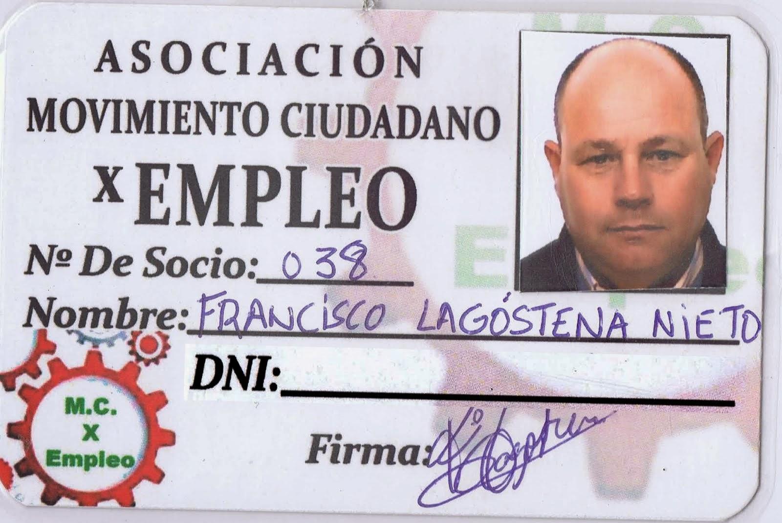 FRANCISCO LAGOSTENA NIETO