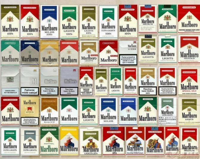 Here Are Some Famous Types Of Marlboro Cigarettes In The United States