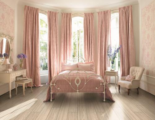 navy orange girly bedroom