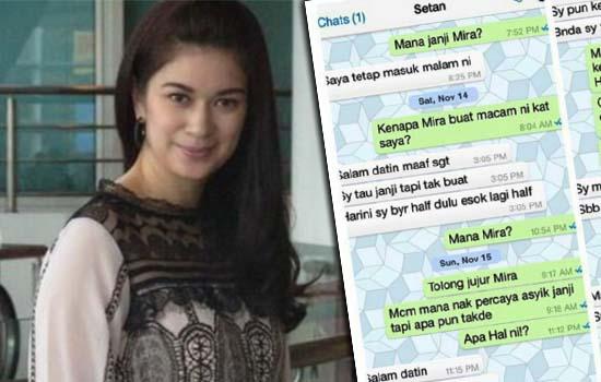 Nasib Malang Nina Juren Ditipu Peniaga Online