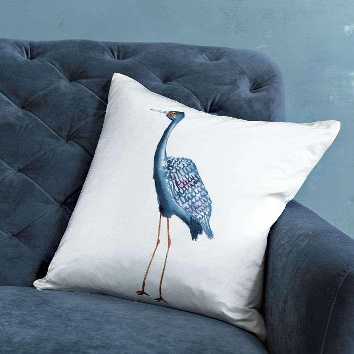 West Elm Silk Pillows Daily Penache Dash