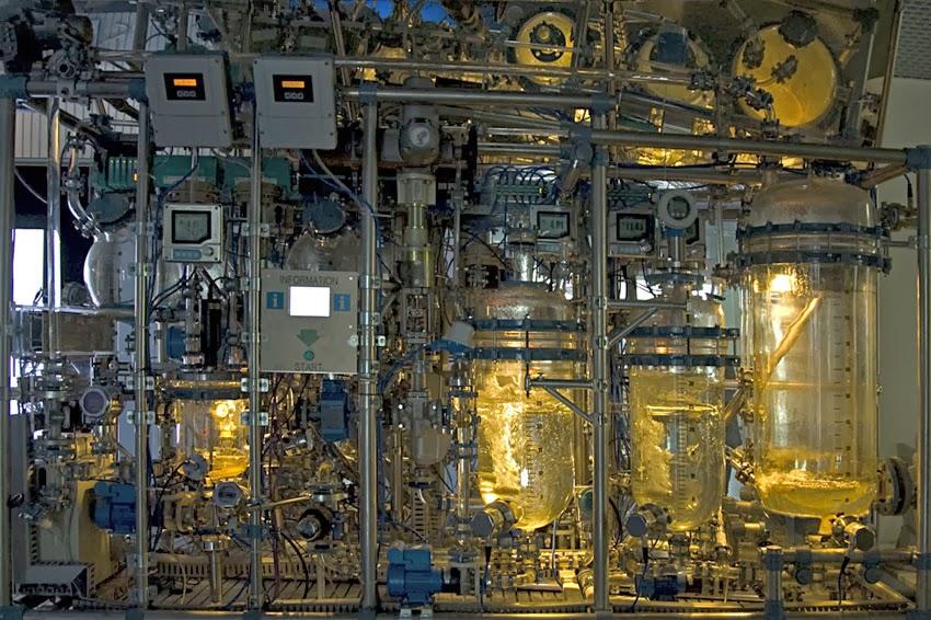 Reaktoren einer Chemieanlage