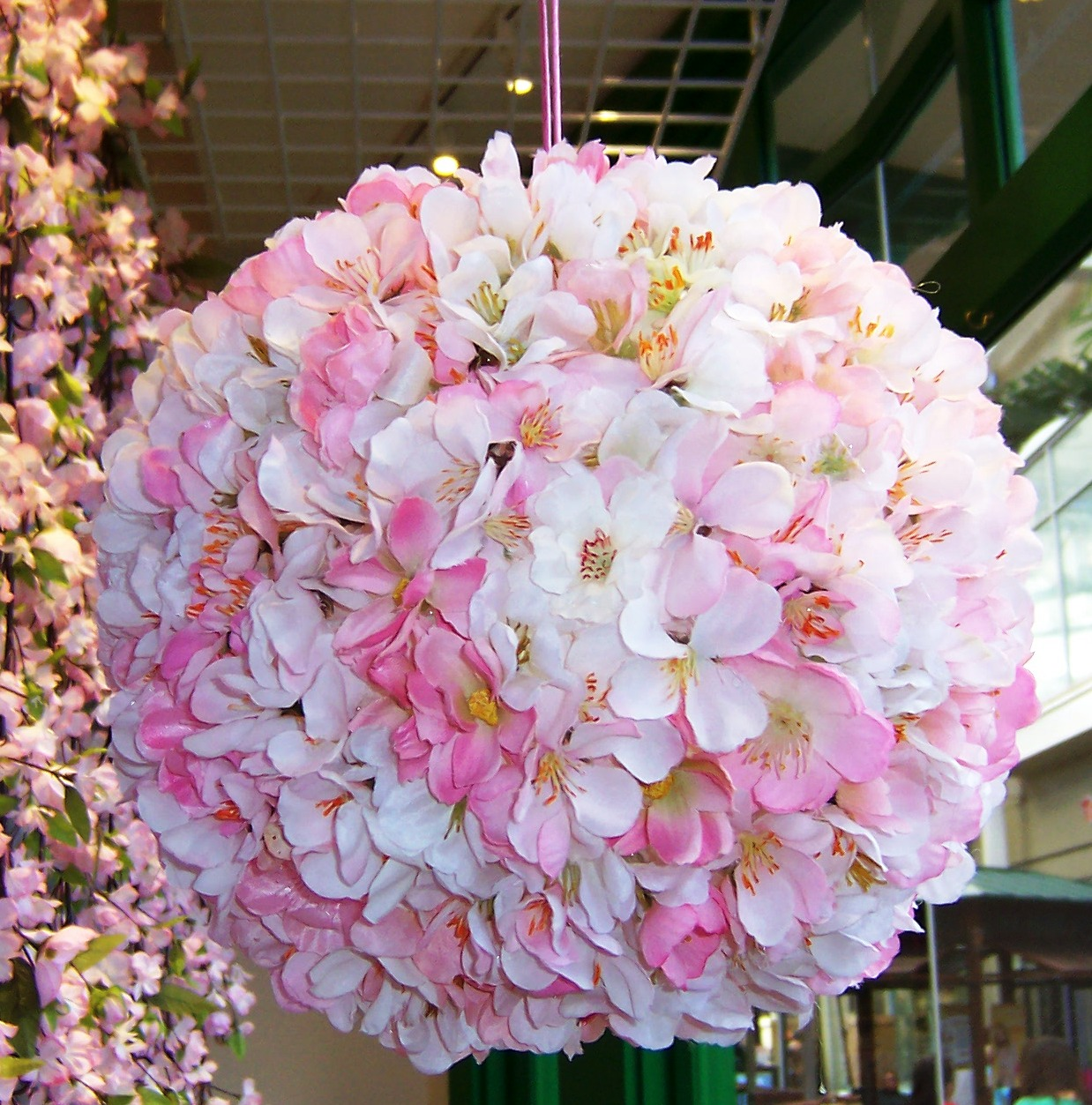 Ideas And Inspirations Floral Paper Lantern Or Kissing Ball
