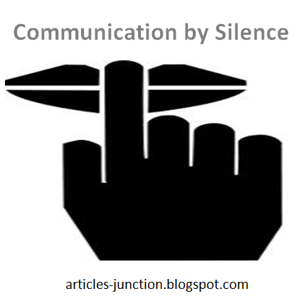 Communication by silence