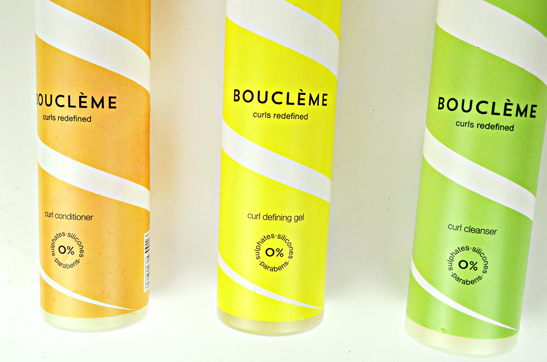 Boucleme, curl conditioner, curl defining gel, curl cleanser, curl towel