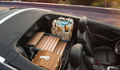 fold down rear seats, interior, 2016 Buick Cascada, seating for 4
