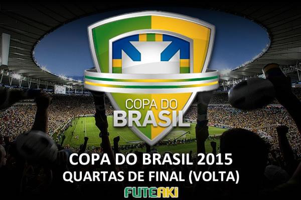 Veja o resumo das partidas de volta das quartas de final da Copa do Brasil 2015, que definiram os classificados para as semifinais da competição.