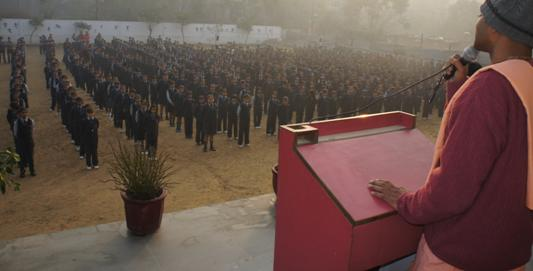 addressing in morning school assembly Morning assembly is an important ritual in students' lives it opens  the above will bring all the participants of that school / assembly within the dictates of the.