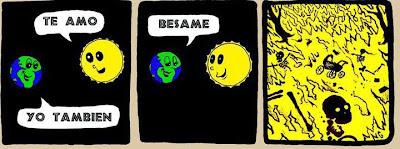Meme del Sol y la Luna.