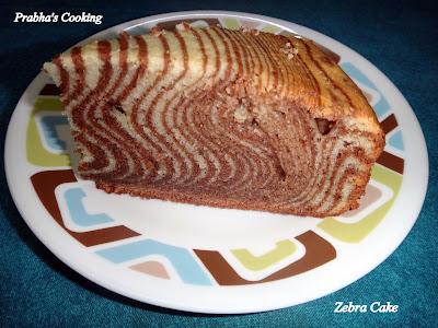 Easy and delicious recipe of the sponge cake zebra Recipe in english