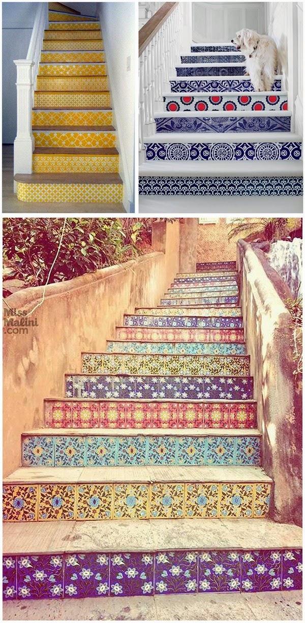 décoration, DIY, escaliers, bullelodie