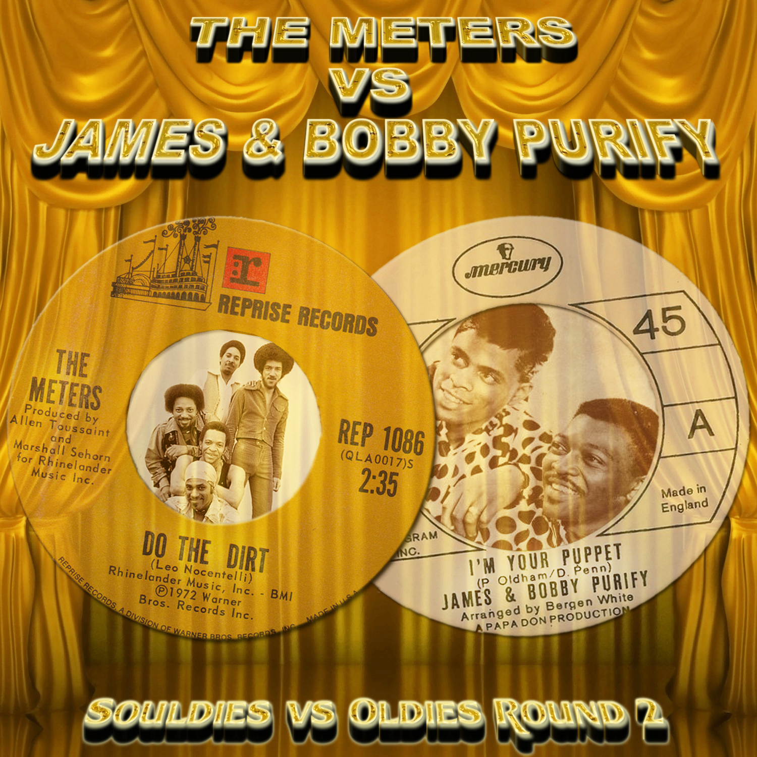 James & Bobby Purify Do Unto Me / Wish You Didn't Have To Go
