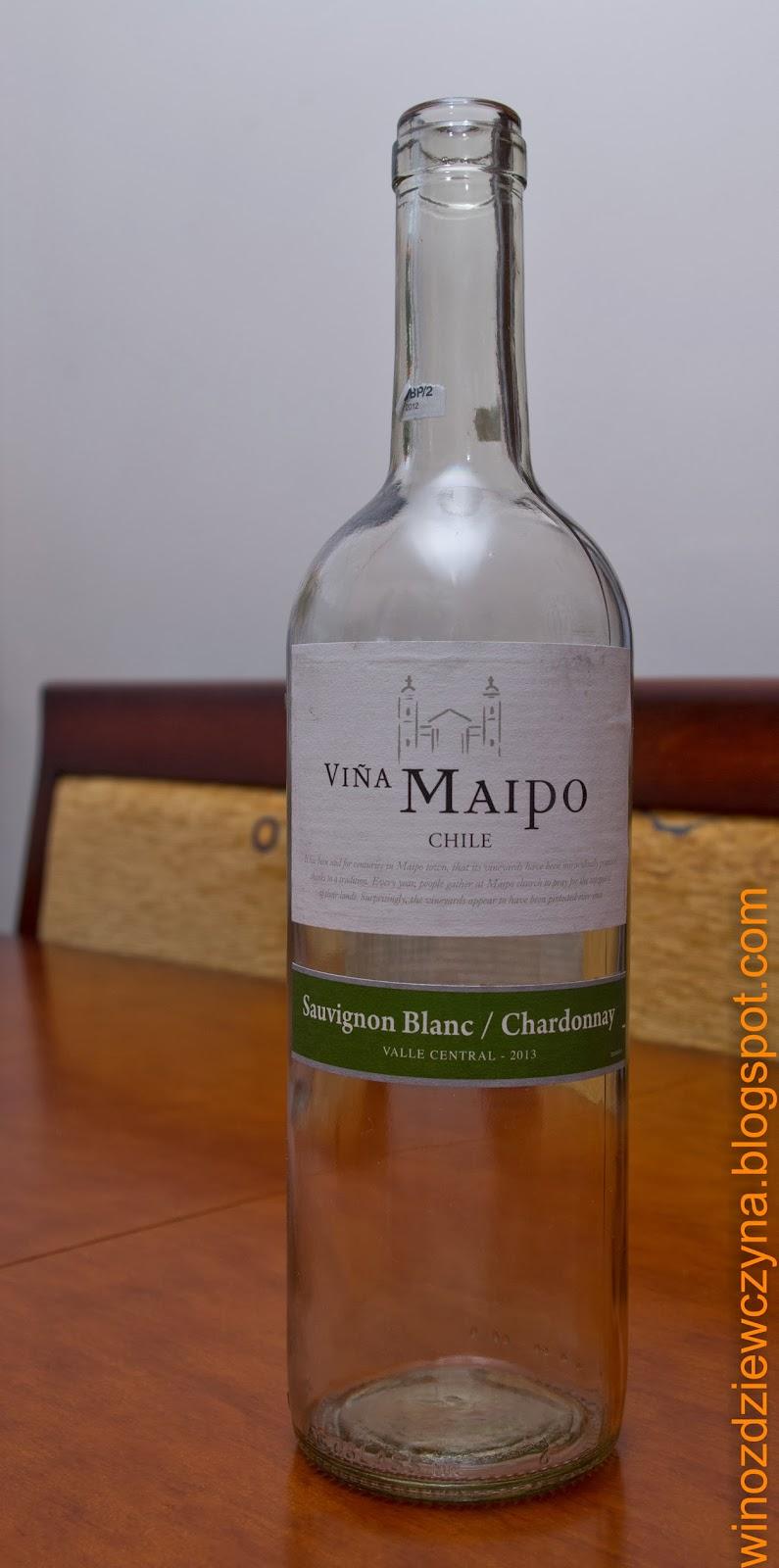 wino białe Chile