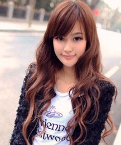 Stylish hairstyles 2013 2014 for korean asian young women