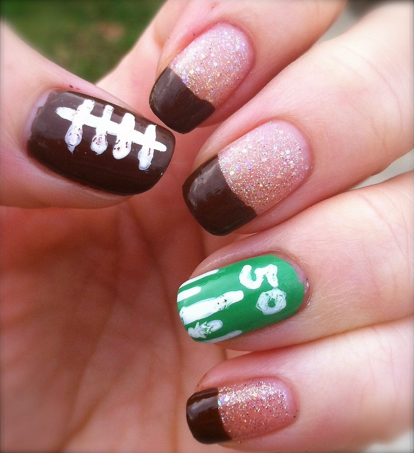 RyCoBra\'s Southern Nails: Are you ready for some football??!