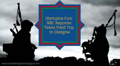 Glasgow, Bagpipes, Olympics, NBC, Kilts, Video