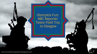 Glasgow, Bagpipes, Olympics, NBC, Kilts, Video