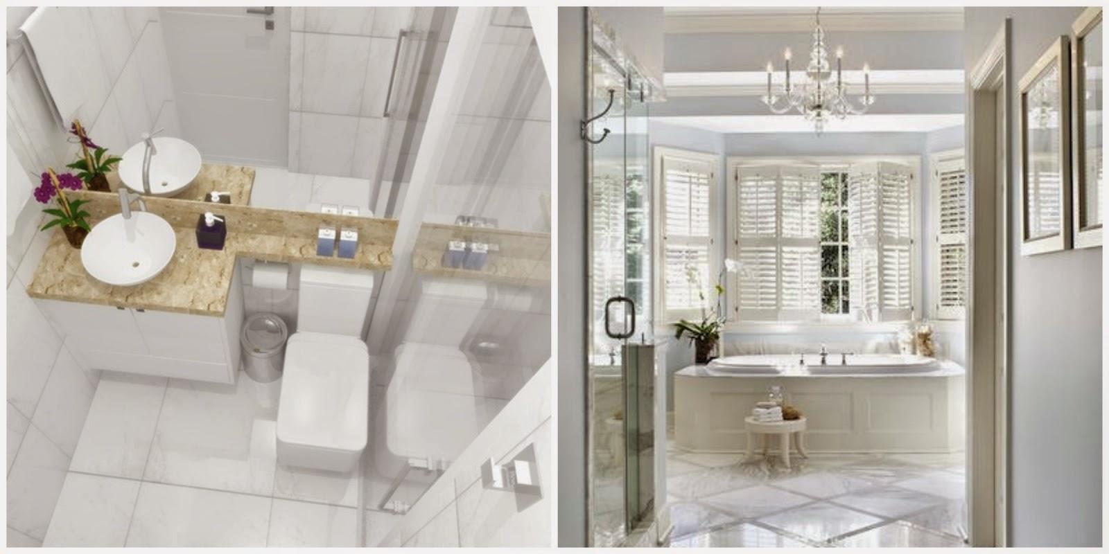Ideias para decorar o seu banheiro Mari Beleza Pura #3F3828 1600 800