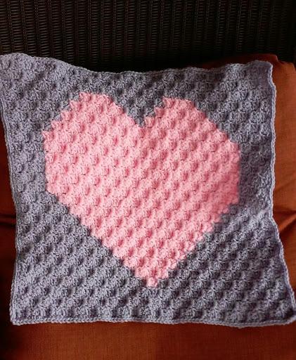 Bella bambina knits heart graph written pattern heart graph written pattern dt1010fo