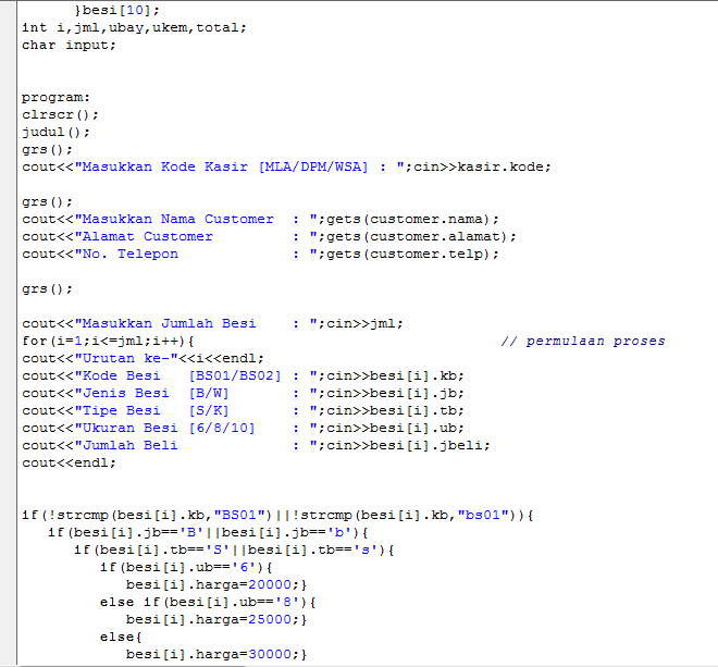Welldone S Blog Borland C Function Struct Label