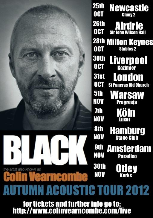 Colin Vearncombe aka Black