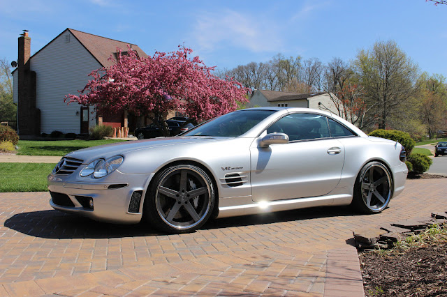 mercedes r230 sl 65 d2forged