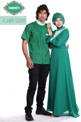 foto baju muslim couple