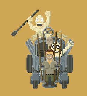 Mad Max Fury Road pixel art