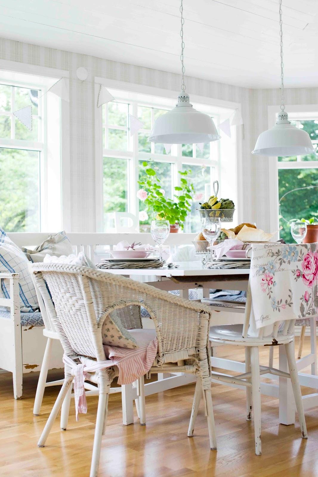 I mitt paradis: jennies vita vackra kök