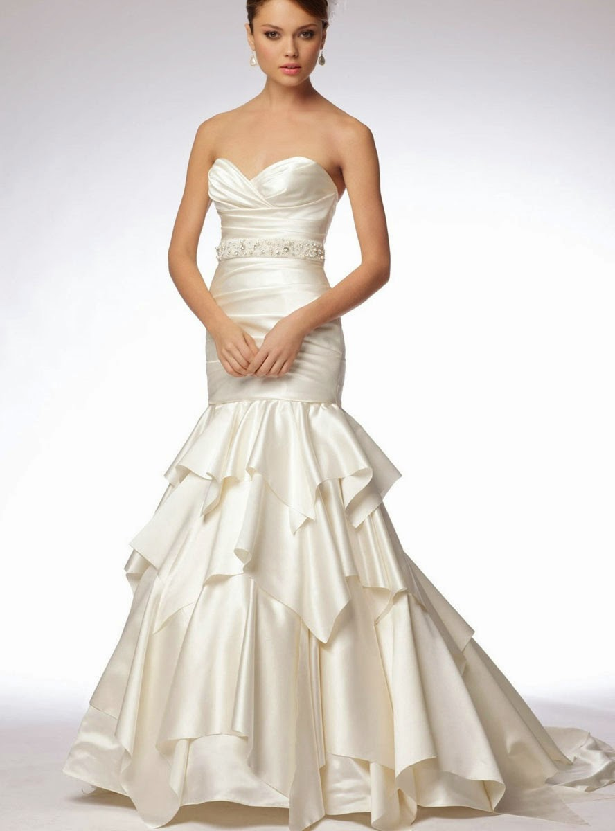 2014 Ivory Style Wedding Dresses Design Concept Photos HD