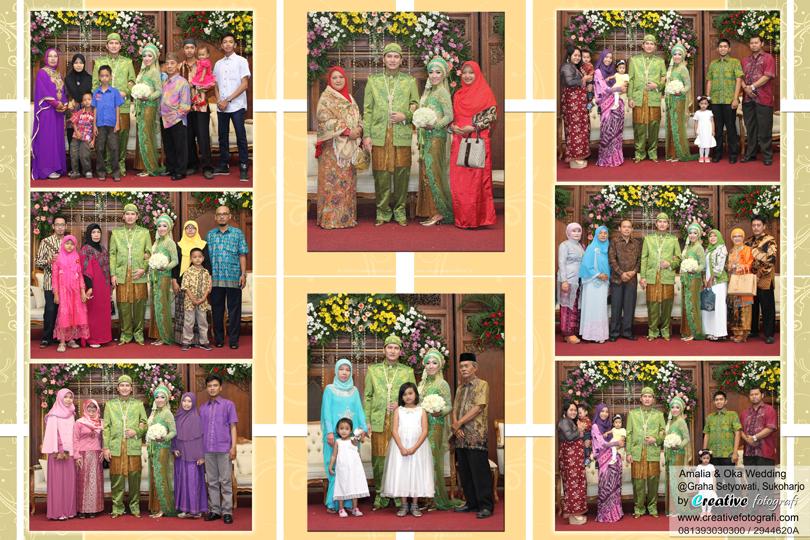 foto pernikahan keluarga