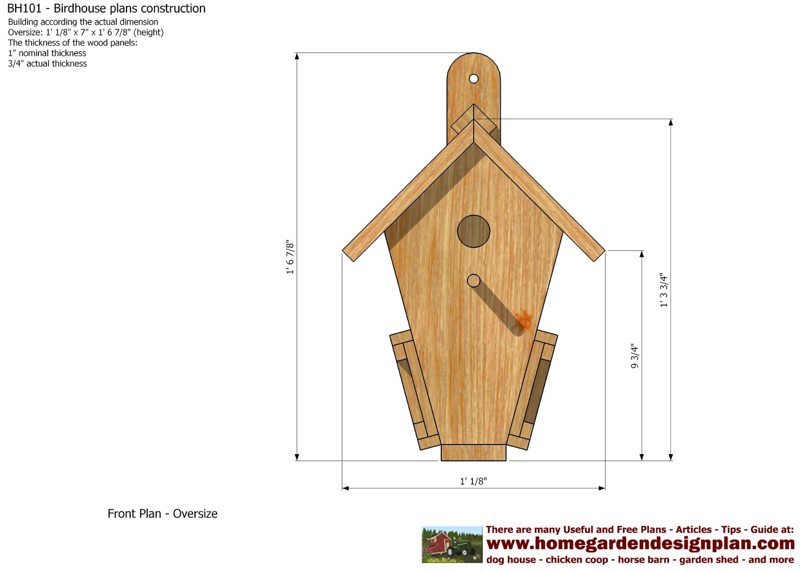 Mina bh101 bird house plans construction bird house for Building a quail house