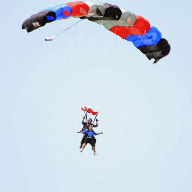 Aflac: Time Well Spent - Save Money by Researching Health Benefits - You could go skydiving with the money you save!