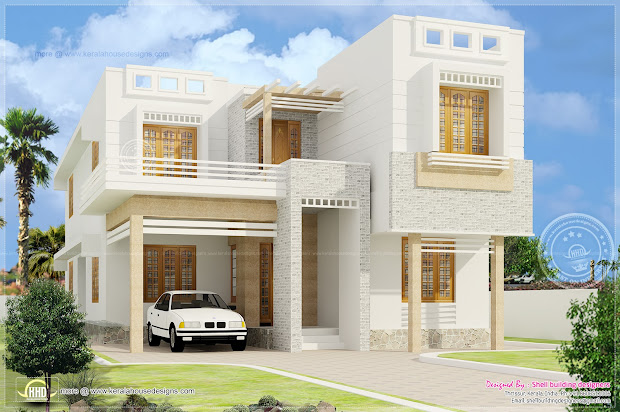 2013 - Kerala Home Design And Floor Plans