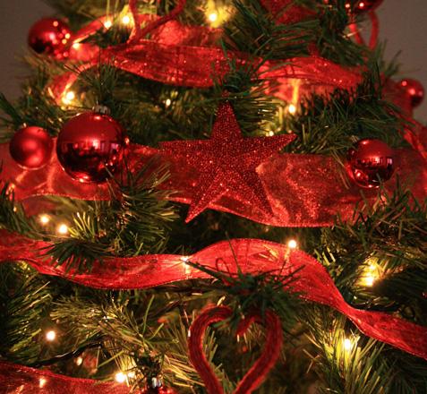Eternamente mia rboles de navidad - Imagenes de arboles navidad decorados ...