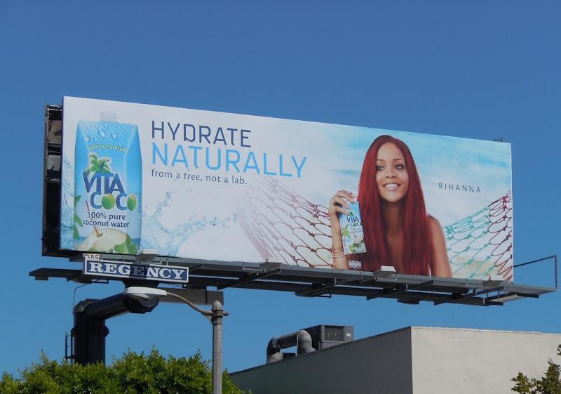 Rihanna Vita Coco billboard