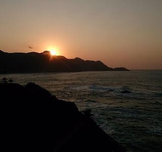 gambar pantai menganti