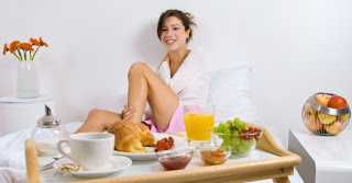 Stomach flu - what we eat.