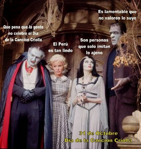 DIA DE LA CANCION CRIOLLA VS HALLOWEEN