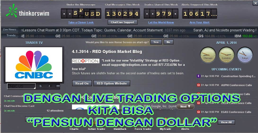 Options trading live