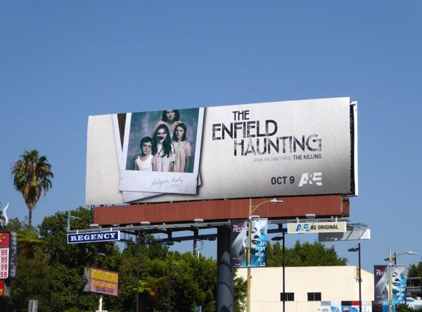Enfield Haunting TV miniseries billboard