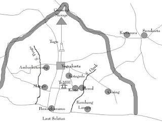 peta wilayah mataram kuno