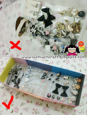 Easy Earrings Box - Membuat Tempat Anting Sendiri