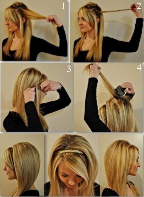 Hairstyles For Long Hair Party : PartyDQ: Lovely Braid Hairstyle For Party