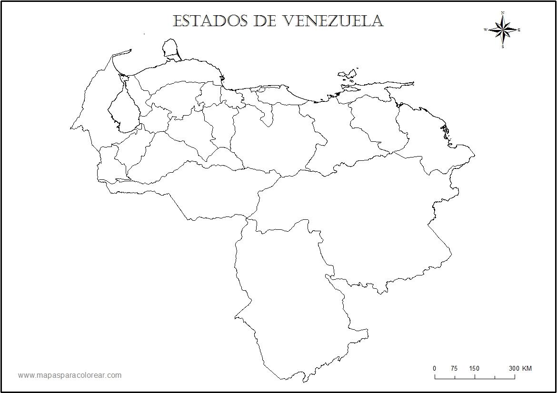 Mapa de México con nombres, capitales y estados