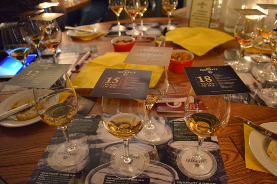 The Glenlivet Tasting at iYellow Wine Club