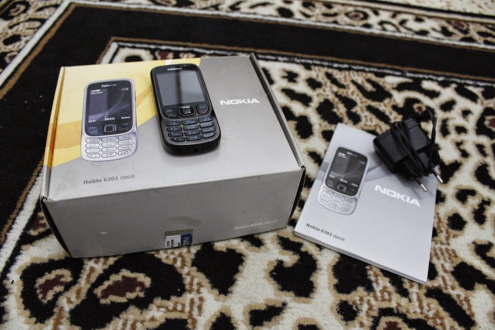 Hp Nokia Jadul 6303 Classik ku