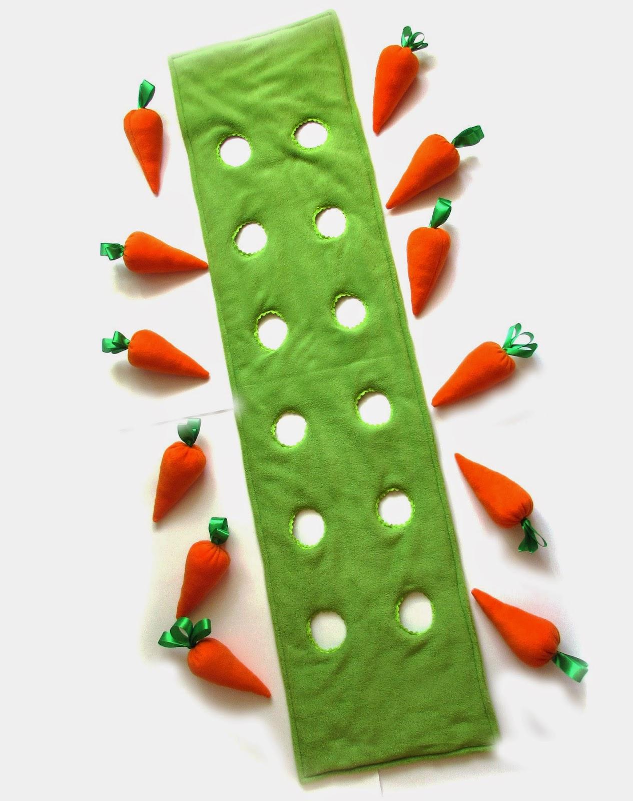 Детские конкурсы с морковкой